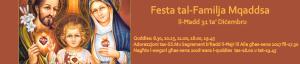 Festa Familja Mqaddsa